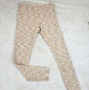 Outdoor Voices terra knit Heatherd leggings